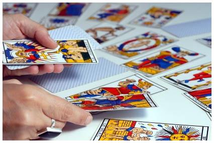 tiradas de cartas